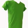 COTTON100% เบอร์32 เสื้อยืดแขนสั้น คอวี สีเขียวตอง
