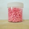เม็ดมุกน้ำตาล แต่งเค้ก/น้ำตาล แต่งเค้ก รูปหัวใจสีชมพู Ligth pink (100g )