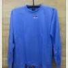 เสื้อยืดผ้าTC แขนยาว จั้มแขน สีฟ้าอ่อน