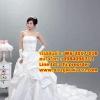 ชุดแต่งงานราคาถูก กระโปรงลอนปักดอกไม้ ws-2017-018 pre-order