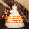 ชุดแต่งงานราคาถูก เกาะอกปักดอกไม้ ws-2017-023 pre-order