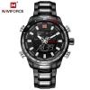 นาฬิกา Naviforce รุ่น NF9093M BK นาฬิกาข้อมือสุภาพบุรุษ ของแท้ รับประกันศูนย์ 1 ปี ส่งพร้อมกล่อง และใบรับประกันศูนย์ ราคาถูกที่สุด