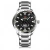 นาฬิกา Naviforce รุ่น NF9090M สีเงิน หน้าดำ ของแท้ รับประกันศูนย์ 1 ปี ส่งพร้อมกล่อง และใบรับประกันศูนย์ ราคาถูกที่สุด