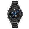 นาฬิกา Naviforce รุ่น NF9050M สีฟ้า/ดำ ของแท้ รับประกันศูนย์ 1 ปี ส่งพร้อมกล่อง และใบรับประกันศูนย์ ราคาถูกที่สุด