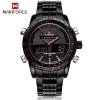 นาฬิกา Naviforce รุ่น NF9024M สีแดง/ดำ ของแท้ รับประกันศูนย์ 1 ปี ส่งพร้อมกล่อง และใบรับประกันศูนย์ ราคาถูกที่สุด