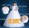 ชุดแต่งงานคนอ้วน กระโปรงสุ่ม WL-2017-P004 Pre-Order (เกรด Premium)