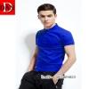 เสื้อโปโลจูติ TC สีน้ำเงิน