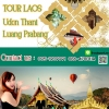 Luang PraBang 4 days 3 nights tour from Udonthani or Nong khai