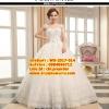 ชุดแต่งงานราคาถูก กระโปรงสุ่มลายปัก ws-2017-014 pre-order