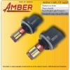 Amber ไฟหน้า Led 57 ดวง super bright 880 สีขาว 6.3 วัตต์ (แพ็คคู่)