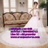 ชุดแต่งงานราคาถูก กระโปรงยาว ws-043 pre-order