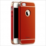 IPAKY CASE 360 3 in 1 iPhone 5 / 5s / SE- Red
