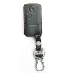 WASABI ซองกุญแจหนัง 3D รุ่น HONDA CRV 4WD (สีดำ)