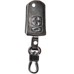 WASABI ซองกุญแจหนัง 3D รุ่น MAZDA 2,3 SEDAN 4 ประตู (สีดำ)