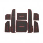 WASABI ซิลิโคนปูพื้นผิวคอนโซล รุ่น Accord 08-12 (สีดำ)
