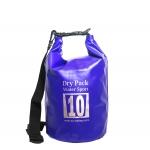 กระเป๋ากันน้ำ Dry pack 10L-สีน้ำเงิน