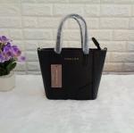 กระเป๋าแบรนด์ CHARLES & KEITH รุ่น Mini Tote Bag size S สีดำ