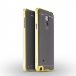 IPAKY Case Samsung Galaxy Note 4 (Yellow)