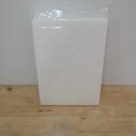 wafer sheet / แผ่นเวเฟอร์ (แบบหนา 0.8mmตั้งทรงได้) 25แผ่น