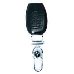 WASABI กุญแจซองหนัง 4DX Luxurious Mercedes Benz CLA (ดำ)