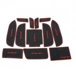 WASABI ซิลิโคน ปูพื้นผิว คอนโซล Civic 2.0 (สีดำ)