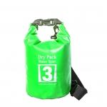 กระเป๋ากันน้ำ Dry pack 3L- สีเขียวตอง