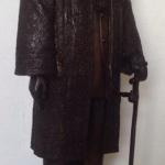 รูปหล่อ พระบรมรูป รัชกาลที่ 9 ทรงชุดครองราชย์ สูง 110ซ.ม.