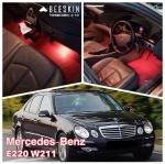 BEESKIN ยางปูพื้นรถยนต์เข้ารูป MERCEDES BENZ E220 W211