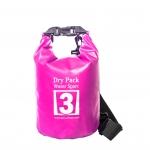 กระเป๋ากันน้ำ Dry pack 3L- สีชมพู