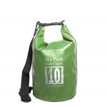 กระเป๋ากันน้ำ Dry pack 10L-สีเขียวทหาร
