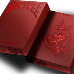 Bicycle Scarab Ruby (Limited Edition) Playing Cards