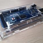 Arduino MEGA 2560 R3 acrylic arduino case box กล่องอะคริลิคแบบใส สำหรับ Arduino MEGA case