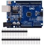 Arduino UNO R3 (ชิปแบบ SMD) + สาย USB