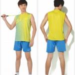 เสื้อแขนกุดผ้าพิมพ์สีเหลืองลายฟ้า