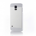 MOTOMO INO METAL S5 PERFPRATED CASE for Galaxy S5 (White)