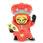โมเดลเปลี่ยนหน้ากากจีน ชุดสีแดง