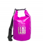 กระเป๋ากันน้ำ Dry pack 10L-สีชมพู