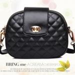 กระเป๋าแฟชั่นแบรนด์ Beibaobao รหัสสินค้า D-117 สีดำ