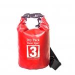 กระเป๋ากันน้ำ Dry pack 3L- สีแดง