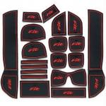WASABI ซิลิโคน ปูพื้นผิว คอนโซล Jazz'10 (สีดำ)