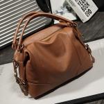 กระเป๋าแฟชั่นนำเข้าสุดชิค รหัสสินค้า D-132 มี 6 สี ดำ, ขาวครีม, แดง, น้ำตาลอ่อน, น้ำตาลเข้ม, น้ำเงิน
