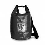 กระเป๋ากันน้ำ Dry pack 15L-สีดำ