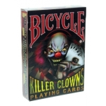 Bicycle Killer Clowns Playing Cards