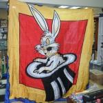 ผ้า ลายกระต่าย (180x180cm)