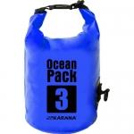 กระเป๋ากันน้ำ Ocean Pack 3L-สีน้ำเงิน