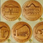 ชุดเหรียญทองแดง เหรียญที่ระลึก 150 ปี โรงกษาปณ์ (เซ็ต 5 เหรียญพร้อมกล่องสะสม)