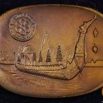 เหรียญทองแดง เหรียญที่ระลึกแข่งขันกีฬาแหลมทอง ครั้งที่ 8 พ.ศ.2518 (8TH SEAP GAMES BANGKOK 1975)