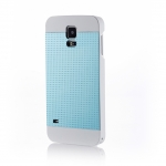 MOTOMO INO METAL S5 PERFPRATED CASE for Galaxy S5 (Aqua Blue)