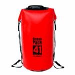 กระเป๋ากันน้ำ Ocean Pack 41L-สีแดง