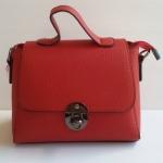 ํพร้อมส่ง กระเป๋าผู้หญิงถือและสะพายข้างใบเล็ก แฟชั่นเกาหลี รหัส Yi-01 สีไวน์แดง